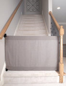 The Stair Barrier New Basic Select Bannister to Wall (BW) Regular Baby Gate