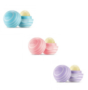 EOS Visibly Soft Lip Balm Duo (Pack of 1 plus new Blackberry
