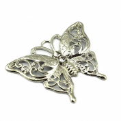 PendantScarf Fashion Necklace Jewellery Scarf Butterfly Pendant