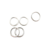 110 PCS Jewellery Making Charms BZ0618 Jump Rings 19mm Antique Silver Tone Bulk Lots Pendant Findings Supplies Crafting Charme