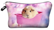 Guinea Pig Cosmetic Makeup Pencil Bag Case Clutch Pouch Purse Zipper Handbag