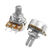 2 x 1K OHM Linear Taper Potentiometer Pot B1K