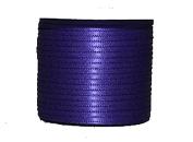 "1/16"" (1.5 mm)Double Face Satin Ribbon 300 Yard Roll Purple haze"