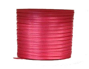 "1/16"" (1.5 mm)Double Face Satin Ribbon 100 Yard Roll Hot Pink"