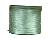 "1/16"" (1.5 mm)Double Face Satin Ribbon 100 Yard Roll Pastel Green"