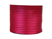 """1/16"""" (1.5 mm)Double Face Satin Ribbon 100 Yard Roll Shocking Pink"""