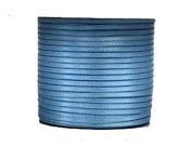 "1/16"" (1.5 mm)Double Face Satin Ribbon 300 Yard Roll Blue Mist"
