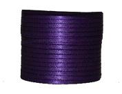 "1/16"" (1.5 mm)Double Face Satin Ribbon 300 Yard Roll Purple"