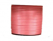 """1/16"""" (1.5 mm)Double Face Satin Ribbon 300 Yard Roll Pink"""