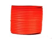 "1/16"" (1.5 mm)Double Face Satin Ribbon 100 Yard Roll Neon Orange"
