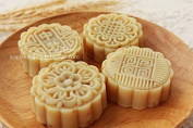 "Soap ""Mid-autumn Moon Cake Soap Owners"" 4 Mounted Soap Imitate Moon Cake Gift Boxes"