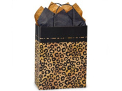 Bundleofbeauty Leopard Print Cub Paper Shopper Gift Bag - Pack of 10