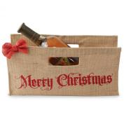 Mud Pie Horizontal Holiday Wine Bags