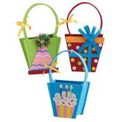 Design Imports Embellished Felt Gift Bags