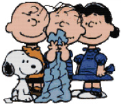 Peanuts Snoopy Charlie Brown Linus and Lucy Counted Cross Stitch Pattern
