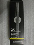 "Sennelier Willow Charcoal Sticks - 3-4mm 1/8"" - 25 pieces"