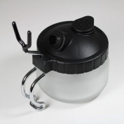 StarsTech Airbrush Cleaning Pot Clean Paint Jar and Air Brush Holder