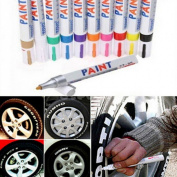 CHENGYIDA 13 Colour Universal Waterproof Permanent Paint Marker Pen Car Tyre Tyre Tread Rubber Metal
