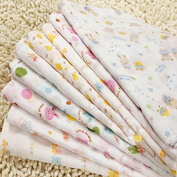 5pcs Newborn Infant Cotton Baby Bibs Feeding Nursing Gauze Scarf Saliva Towel