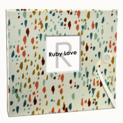 Special Edition (Years 1-5) Ruby Love Cream Confetti Baby Memory Book
