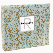 Special Edition (Years 1-5) Ruby Love Mint & Gold Shimmer Baby Memory Book