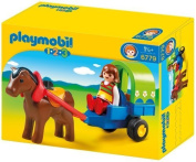 Playmobil 1.2.3 6779 123 Pony Waggon by Playmobil
