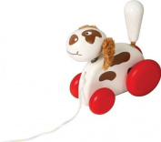 Voila Pull-Along Pet Dog by Voila