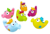 Nowali 2401 Konfetti Seahorse Bath Squirters, Set of 6