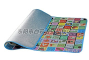90*100cm Play Mat Baby Educational Crawl Pad Play+Learn+Crawl Game Carpet