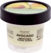 Scentio Avocado Brightening Smoothies Facial Scrub. Famous Brand in Thailand.