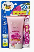 New Biore UV Aqua Rich Watery Essence Rose SPF50+/PA+++ 50g