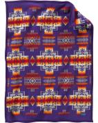 Pendleton Boys' Chief Joseph Muchacho Blanket Purple One Size