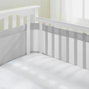 AirFlowBaby 36cm Mesh Crib Liner, Grey