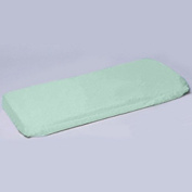 aBaby Crib/Toddler Flat and Fitted Sheet, Mint