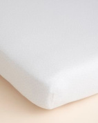 Hudson Park Collection Percale Baby Crib Sheet - Petal