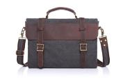 Betus High Quality Canvas Bag Men's Solid Cover Zipper Casual Shoulder Men Crossbody Bag