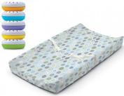 Summer Infant Ultra Plush Change Pad with Nursery Fresheners, Blue Swirl