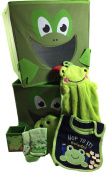 Nursery Storage Bins 25cm Square, Frog Accessories - Baby, Christmas Gift