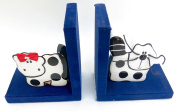 Bookends, Hello Kitty, Decor, Home, Nursery, School, Library, Size 28cm X 0.9m, White Hello Keity