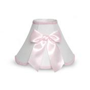 By Design Ribbon Lamp Shade Nursery Decor with Ribbon