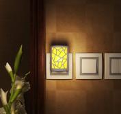 Warm White Night Light Motion and Light Sensor Nightlights Wall Light US Plug Off/photo/auto Mode for Bedroon Decoration