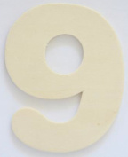 Craft Wooden Wood Number 9 Wedding Party Home Decor DIY