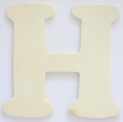 Craft Wooden Wood Letter Alphabet H Wedding Party Home Decor DIY