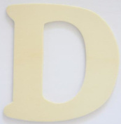 Craft Wooden Wood Letter Alphabet D Wedding Party Home Decor DIY