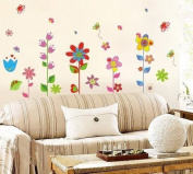 Fund Butterfly Garden Decorative Peel & Stick Wall Art Sticker Decals
