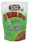 Foods Alive - Organic Flax Crackers Italian Zest - 120ml
