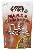 Foods Alive - Organic Flax Crackers Maple & Cinnamon - 120ml