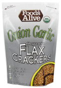 Foods Alive - Organic Flax Crackers Onion Garlic - 120ml