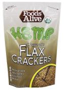 Foods Alive - Organic Flax Crackers Hemp - 120ml