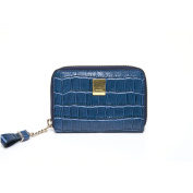 Ean Leather Python Pattern Zipper Card Wallet Useful Credit Card Wallet Small Purse
